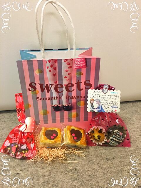生徒さんからバレンタインデーのチョコを貰いました!すごい完成度!