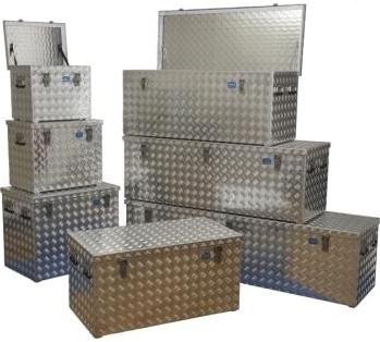 Alu-Riffelblechboxen