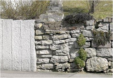 Leipziger Allerlei: Inhomogenes Sammelsurium aus  verschiedenen Steinen und Bauweisen