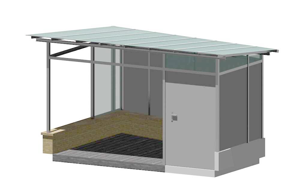 Unsere CAD-Planung der Lounge