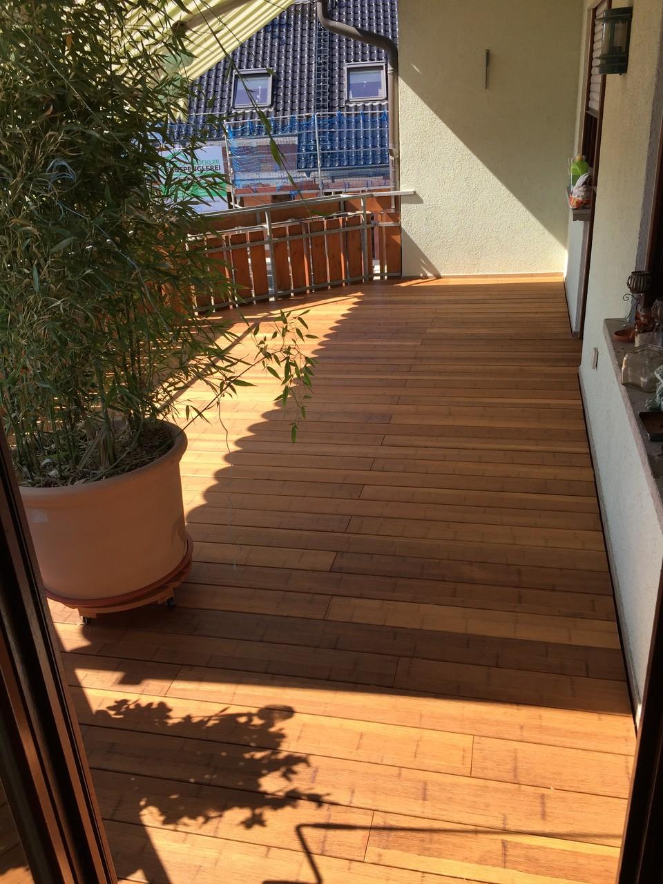 Balkon im 1.OG