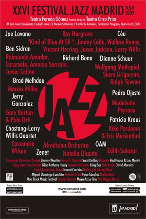 Concierto de Maye Azcuy en el festival jazz madrid 2009