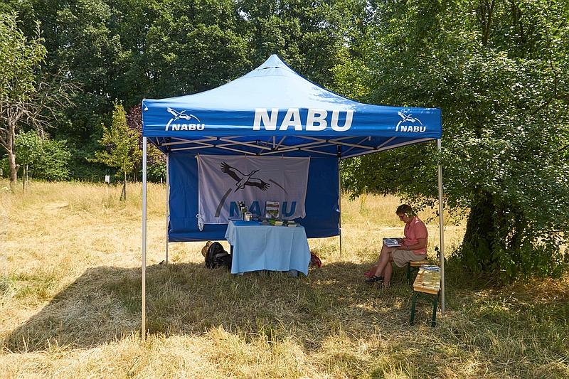 DSGVO konformes Foto vom NABU Stand :-)