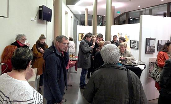 Fotoausstellung FRED BISENIUS, Differdingen, Eröffnung/Vernissage am Di. 12.02.2019 (Foto: theos)