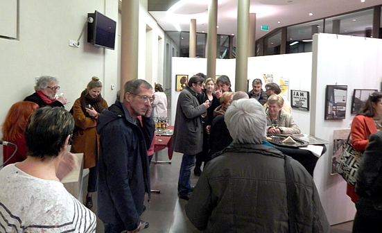 Fotoausstellung FRED BISENIUS, Differdingen, Eröffnung/Vernissage/Opening, Di. 12.02.2019 (Foto: theos)
