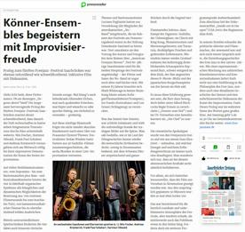 """Screenshot vom Artikel der Saarbrücker Zeitung (aus dem """"Pressreader"""")"""