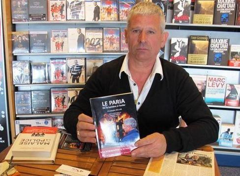 Christophe Bellan n'a pas eu de nouvelles de son ancienne hiérarchie après la publication de son livre en décembre et déjà vendu à plus de 1.000 exemplaires.