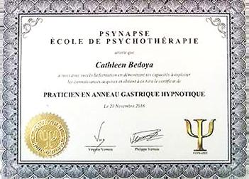 Hypnose pour maigrir - Cathleen Bedoya hypnotherapeute spécialisée dans la perte de poids et anneau gastrique virtuel - Hypnose Bassin d'Arcachon