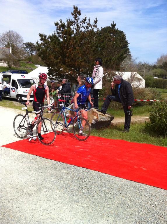 Transition vélo course ,allez encore 3 petit km !