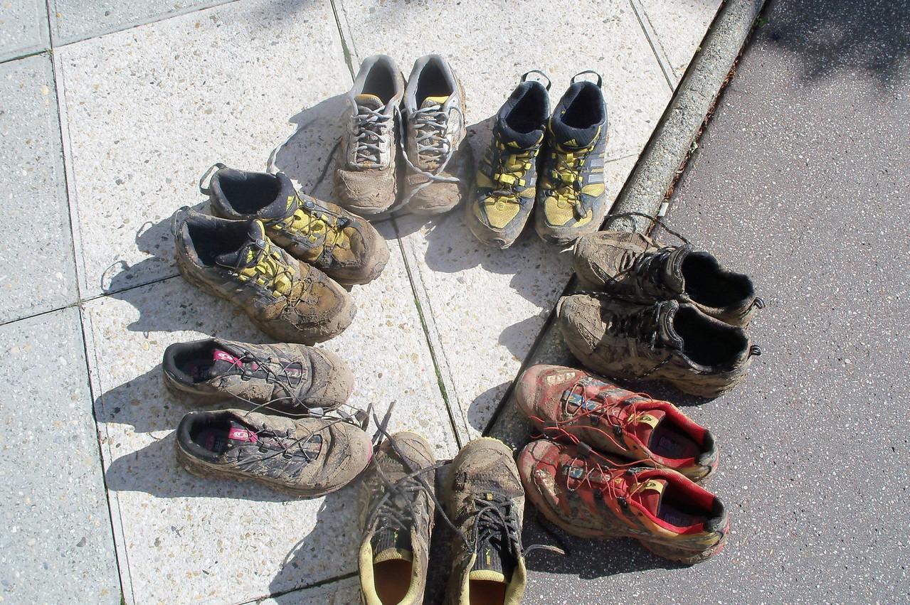 chaussures crôttées !!!