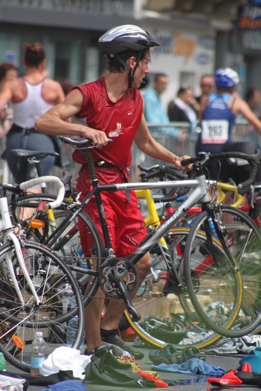 Et c'est parti pour 20 km de vélo