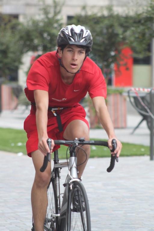 retour vers le parc a vélo