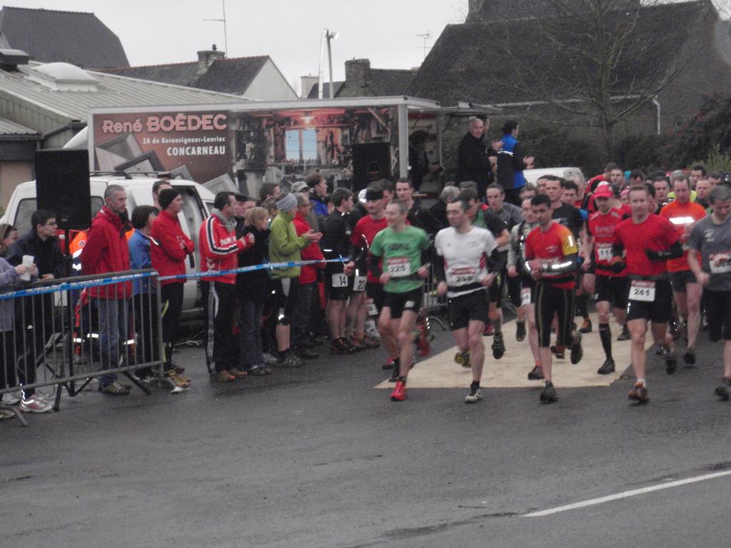 Patrice GLOUX remportera l'épreuve du 24 km