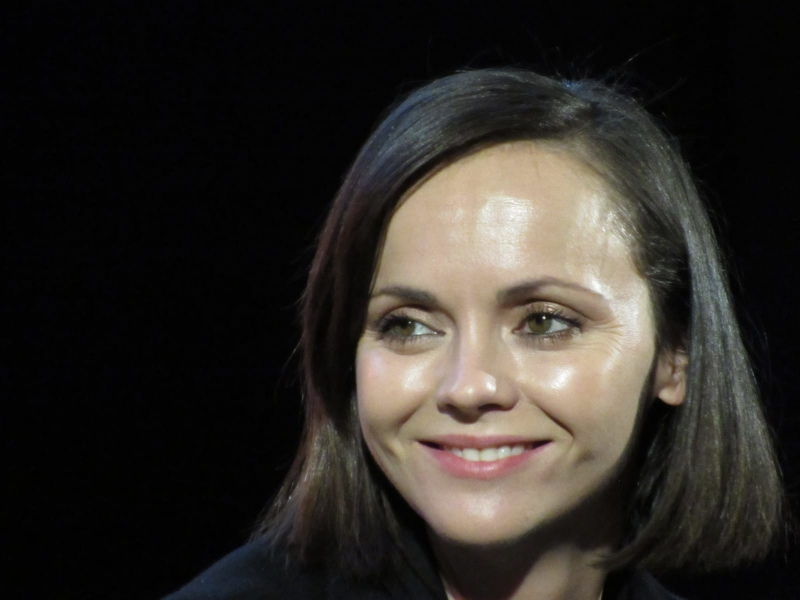 Christina Ricci at Comic Con Brussels