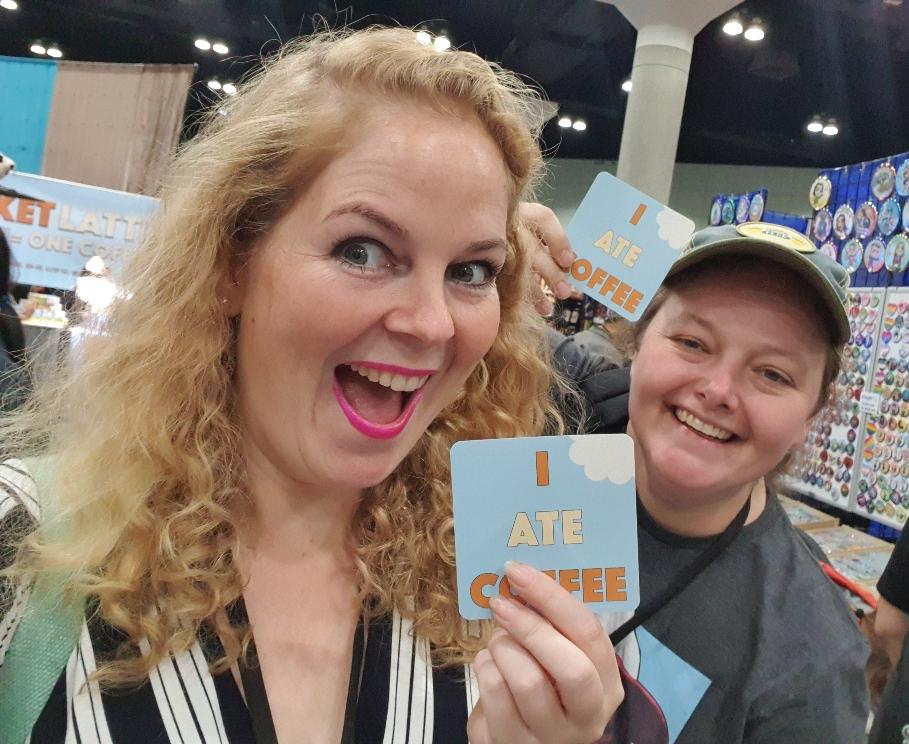 I ate coffee, Comic Con Los Angeles