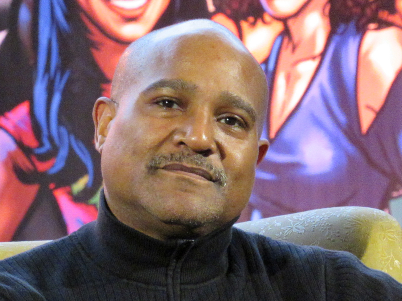 Seth Gilliam at Comic Con Brussels