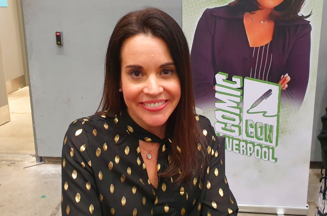 Jenna Leigh Green at Comic Con Liverpool