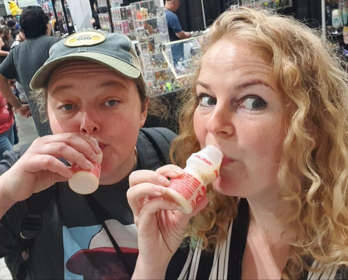 Having fun at Los Angeles Comic Con