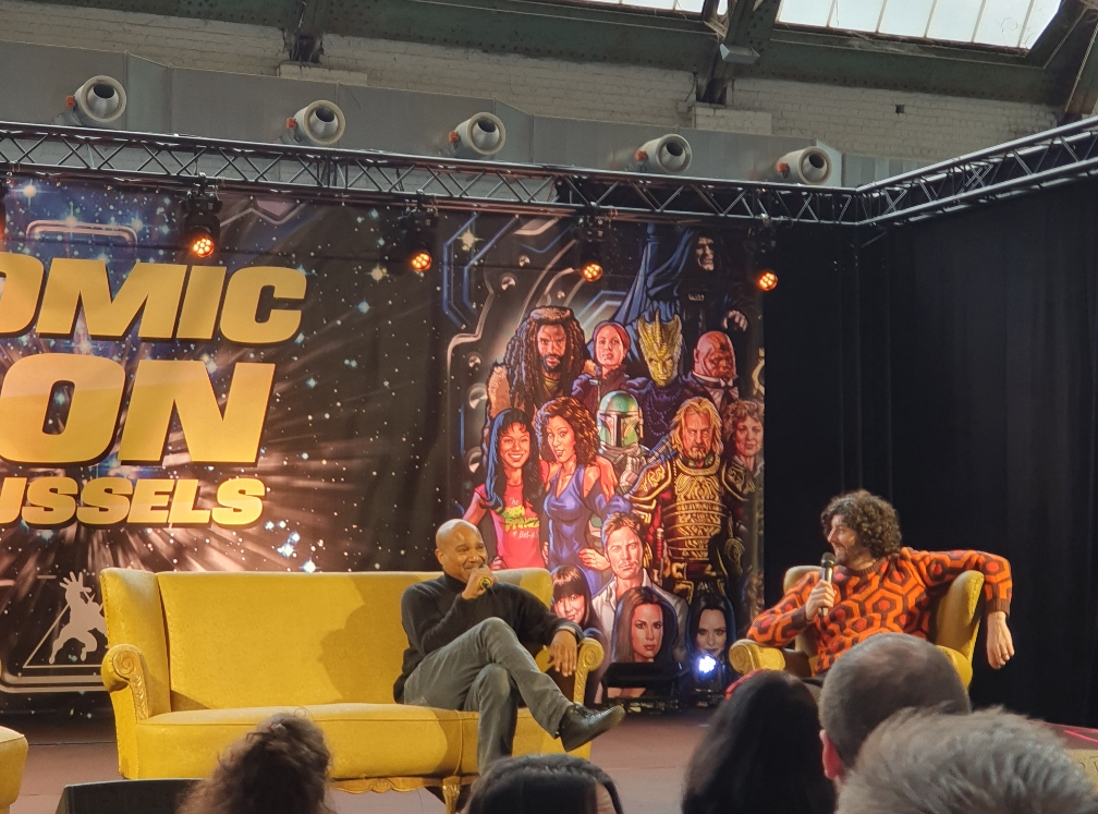 Seth Gilliam panel Comic Con Brussels 2020