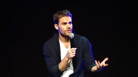 Paul Wesley at Bloody Night Con