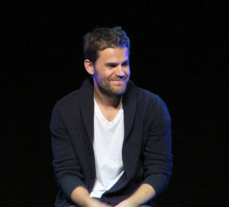 Paul Wesley at his panel at Bloody Night Con Europe 2017