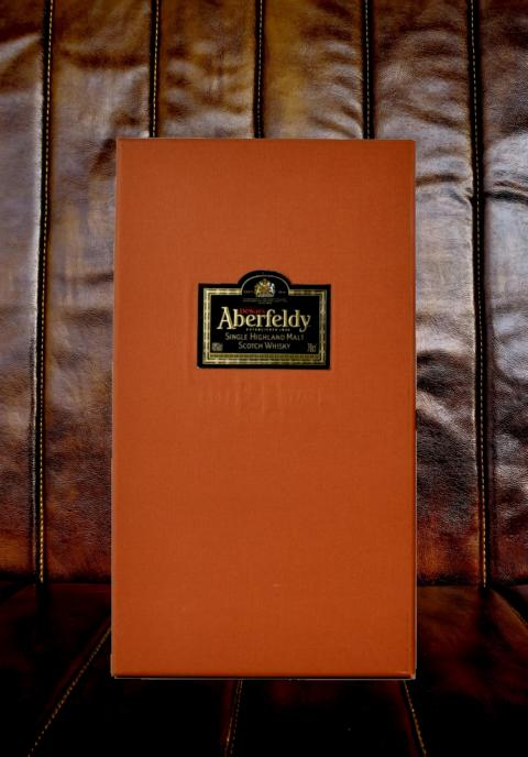Aberfeldy 21 Years Old Label