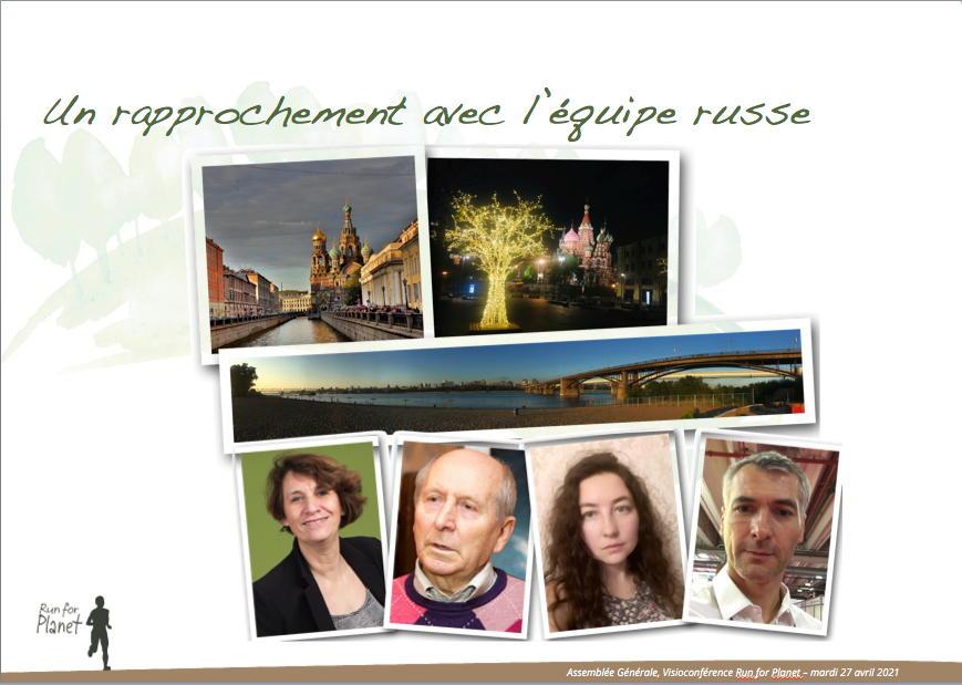 Rencontre avec les équipes françaises et russes de Run for Planet !