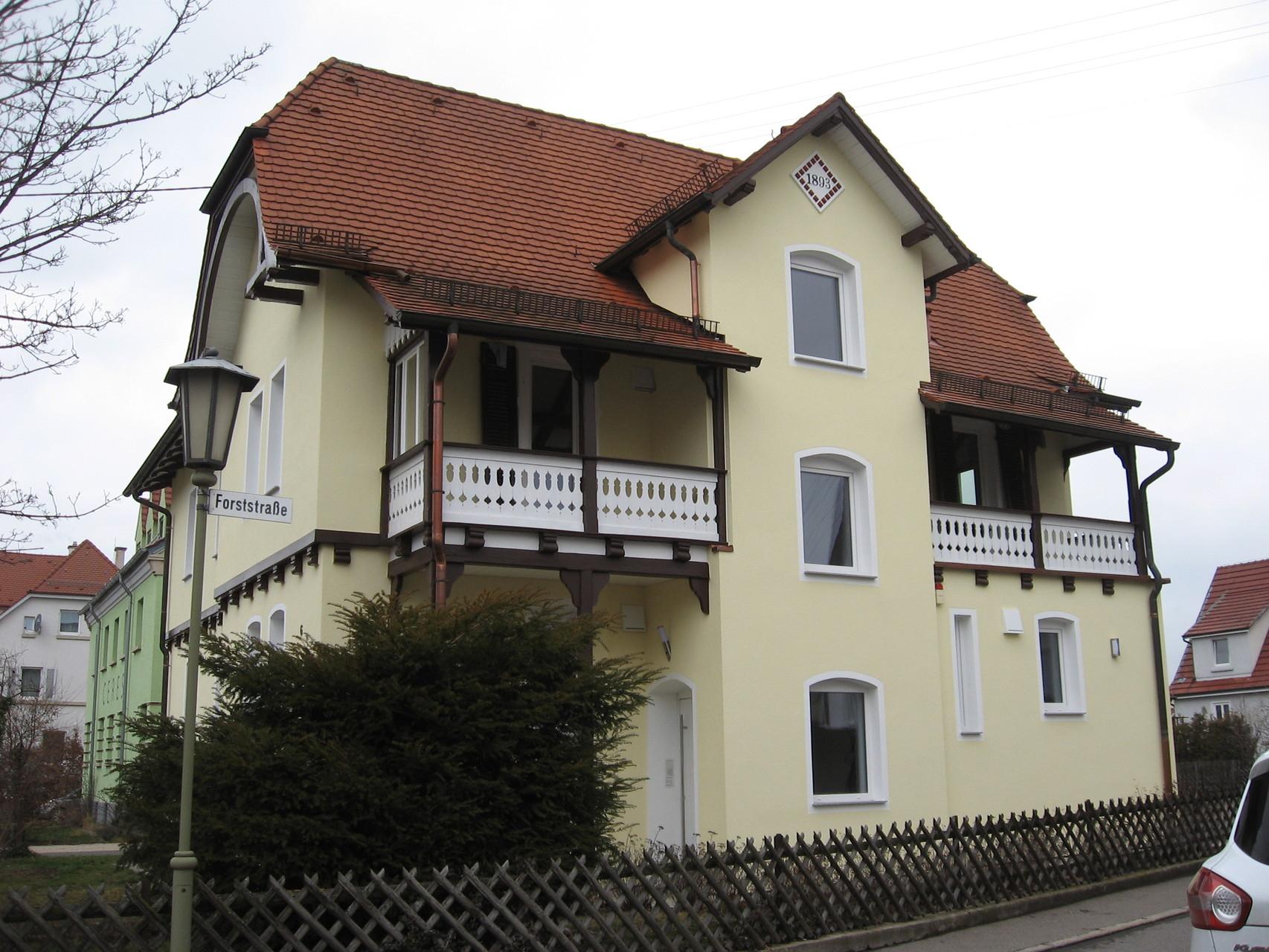 Sicht von Forststraße