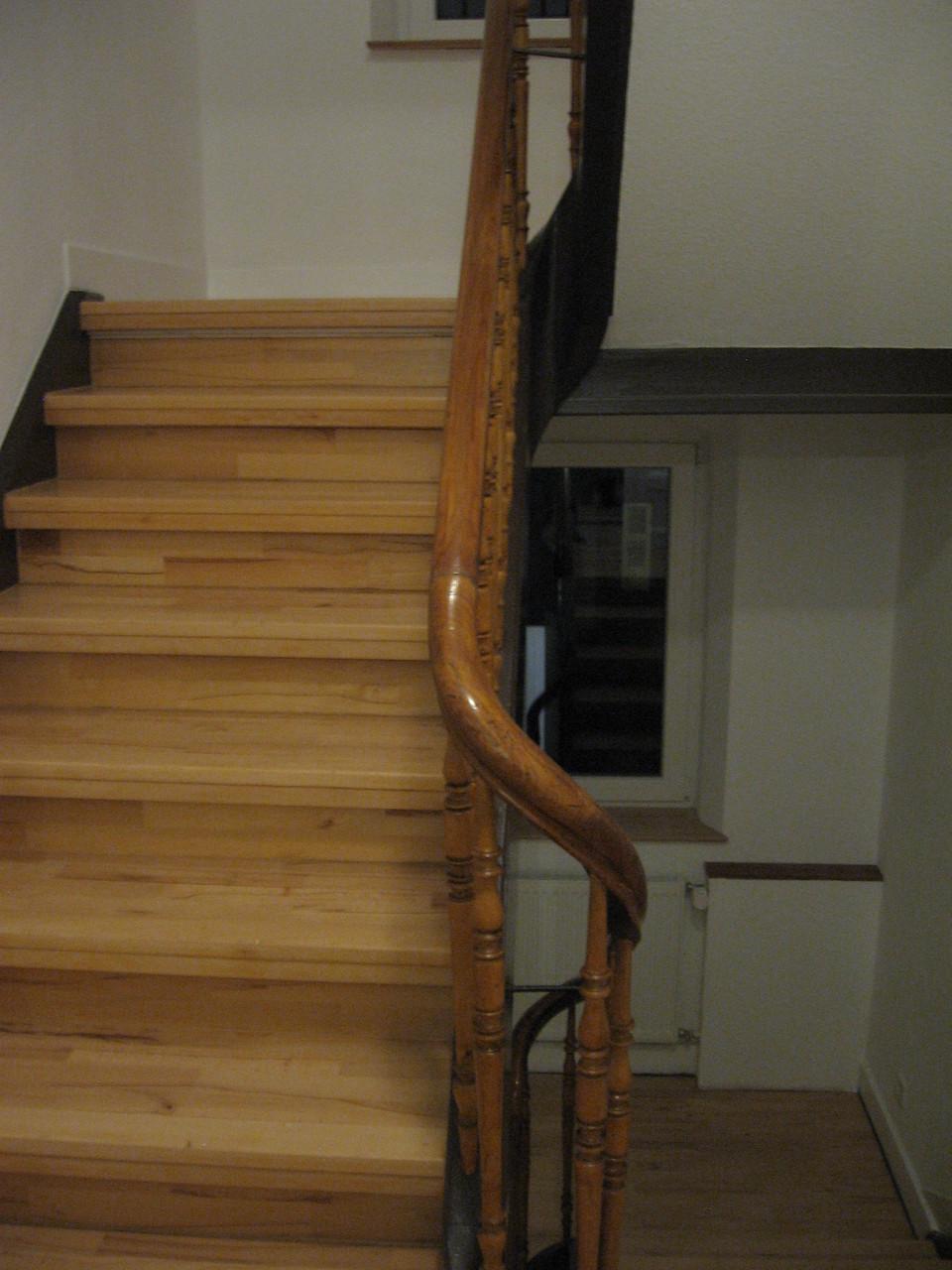 Treppenhaus im neuen Glanz
