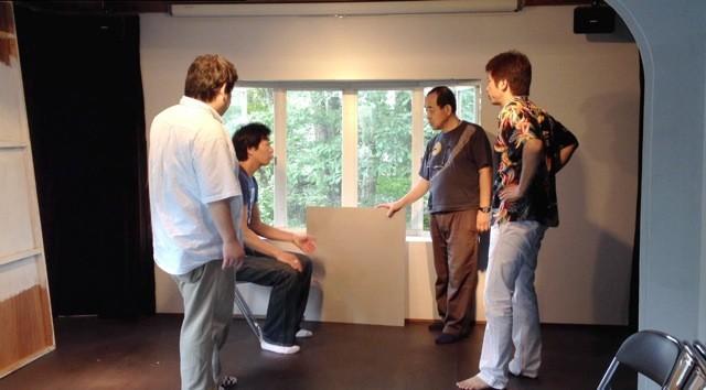 舞台人オーナー青木さんが、道具作りまで協力