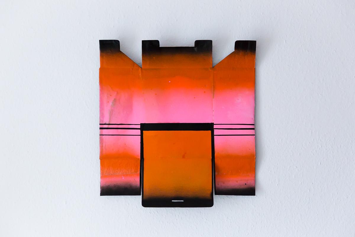 Clatronic, 2017, Verpackungskarton und Polyurethan, 54x51cm