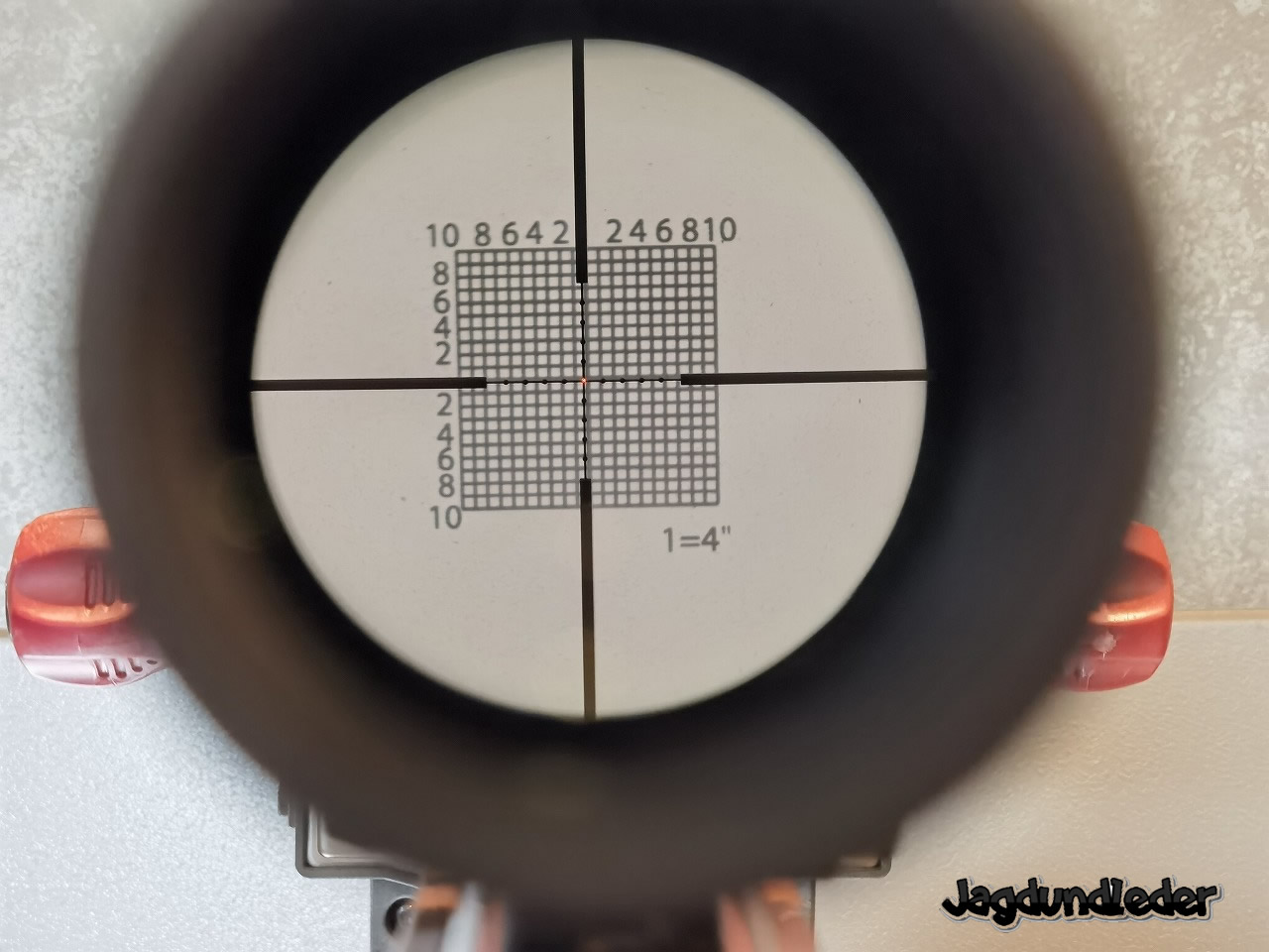 Vixen 6-24x58 ボアサイターでボアサイト
