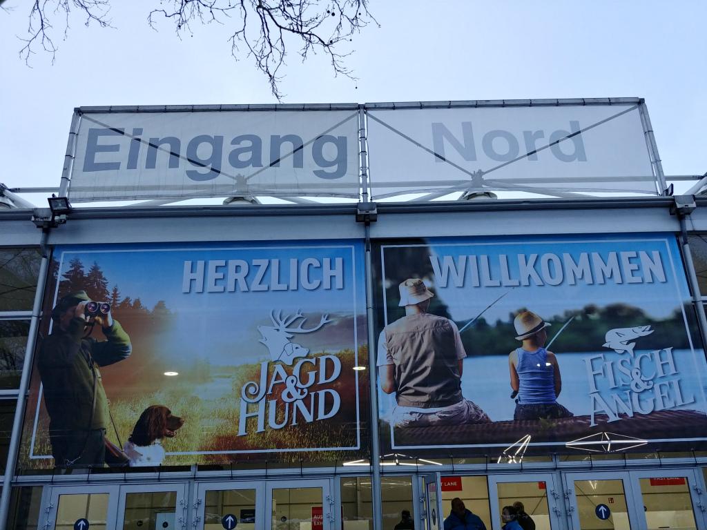 独 Jagd und Hund 2019 へ行ってまいりました。