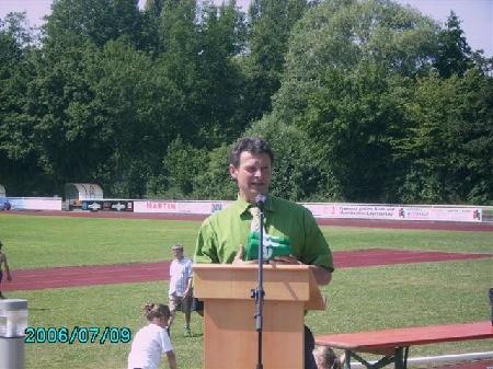 2. Vorsitzender FC, Abt. Leiter Fußball  Bernhard Reich