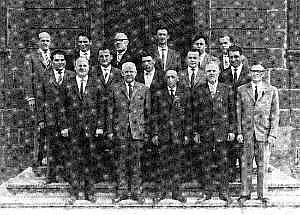 Vorstand m. Vereins-, Spiel- u. Festausschuß 1961