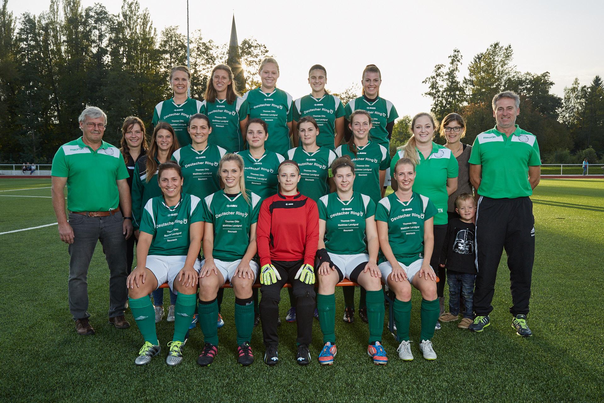 1 Mannschaft - 1 FC Baunach