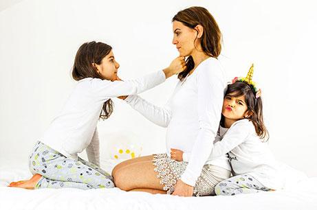 photo portrait maman enfants - photographe professionnelle Nantes Cholet La Roche sur Yon
