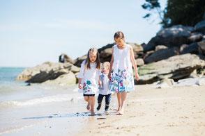 reportage photo famille à la plage pornic noirmoutier saint nazaire la bernerie en retz