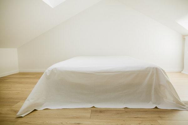 lit dans homestudio - Photographe portrait Nantes Orlane Boisard