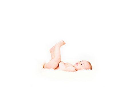 photo portrait studio bébé - photographe professionnelle Nantes Cholet La Roche sur Yon