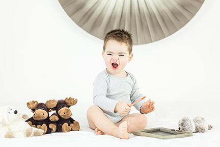 Photo portrait petit garçon bébé - Nantes Cholet La Roche Sur Yon