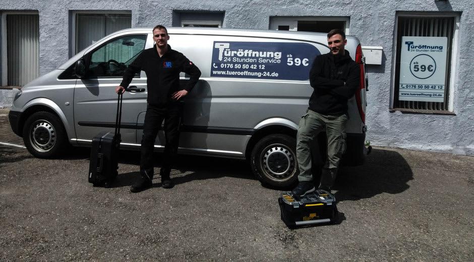 Ihr Team für Türöffnung und Schlüsselnotdienst für Garching und Umgebung