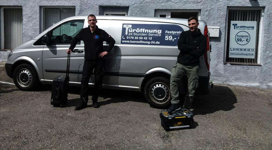 Ihr Team für Türöffnung und Schlüsselnotdienst für Hasenbergl und Umgebung