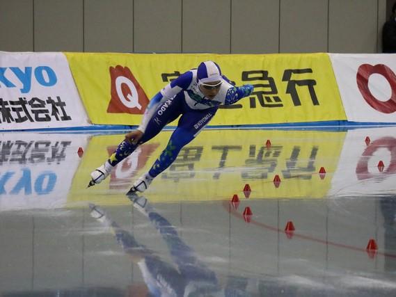 神谷がW杯スピードスケート競技会(前半戦)派遣選手に選出されました