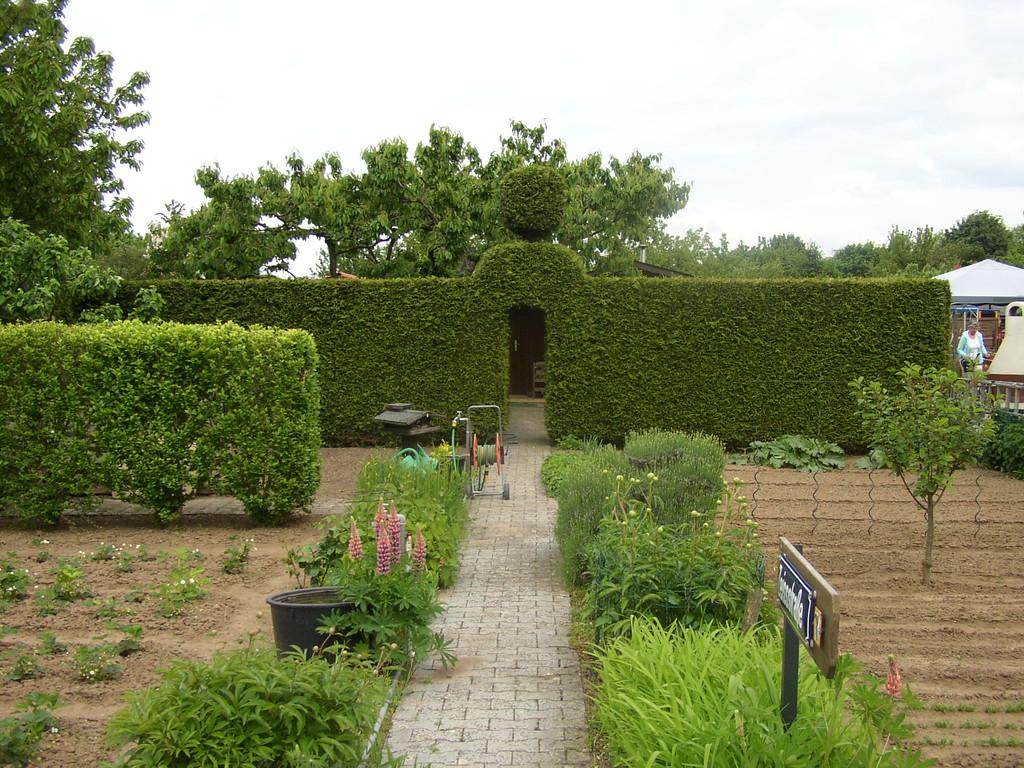 der Eingang zum Englischen Garten