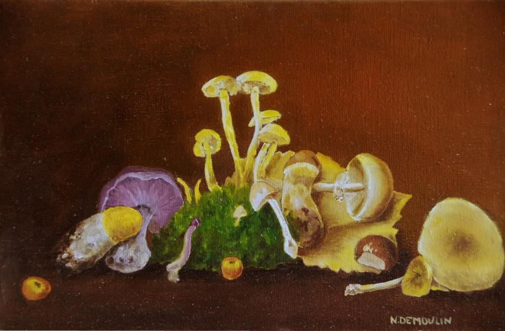 Cueillettes de champignons