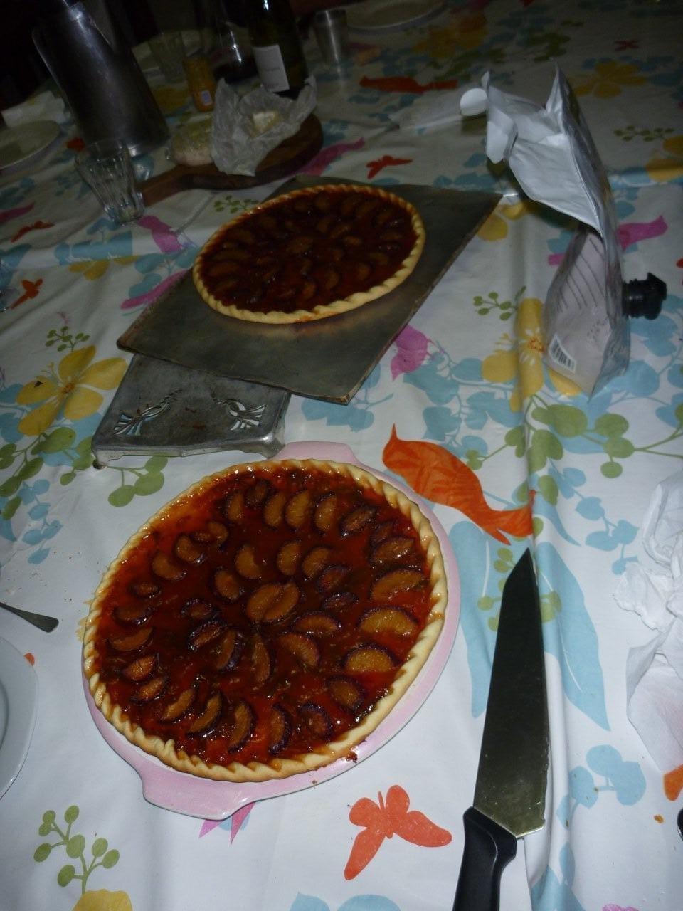 Les tartes aux prunes à la confiture de JPP