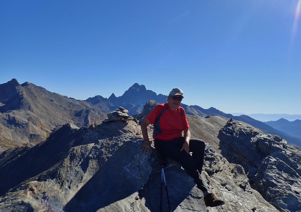 Baron sur fond de Viso (3025 m)