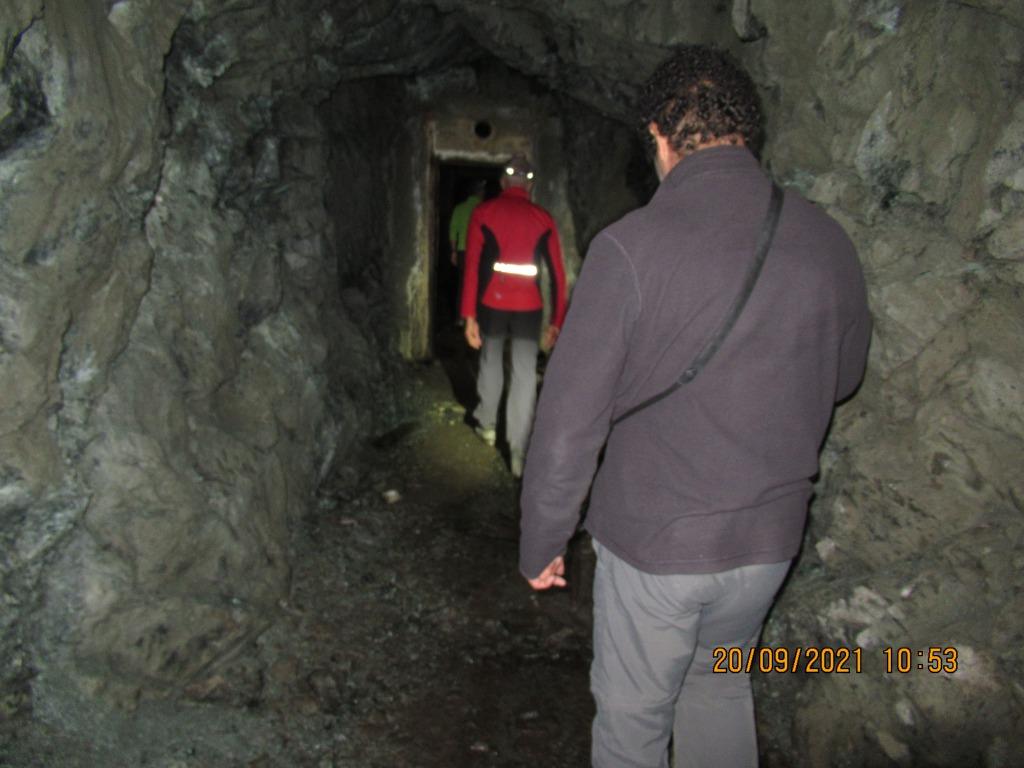 La poudrière de la mine de cuivre de  St Véran