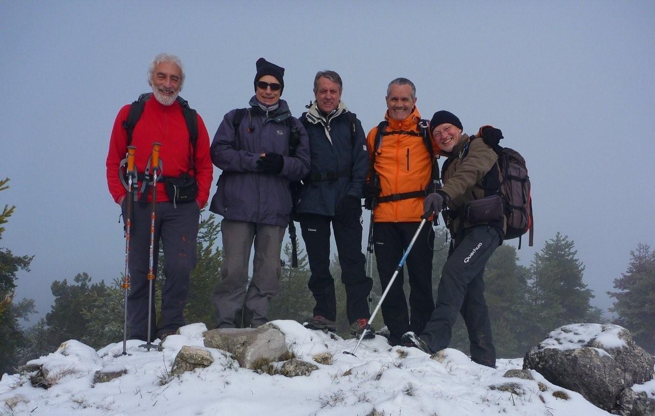 Vrai sommet Mont Férion 1412 m